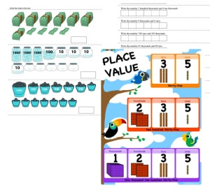 place value worksheets puzzles and lesson plans. Black Bedroom Furniture Sets. Home Design Ideas